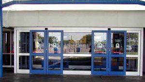 Sliding door in Corpus Christi Intl Airport - Sliding Doors Systems Ottawa, Burlington, London in Ontario