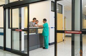 Costa Rica Hospital Automatic Front Door