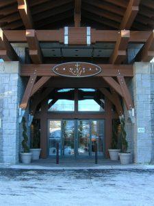 Sliding door in Lodge Burlington, London, Ottawa | Horton Automatics of Ontario