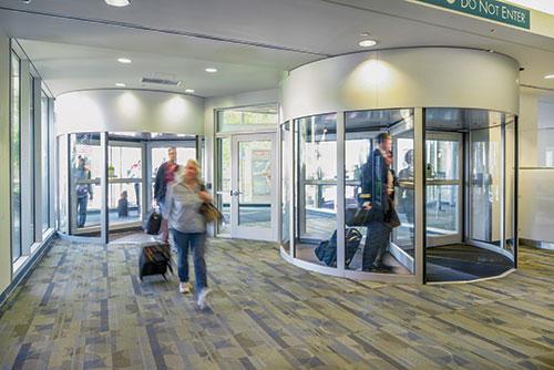 Del-Mar Doors Revolving Door Sensors Error-Free