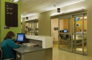 SWMC ICU Automatic Door