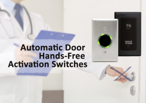 automatic door hands-free activation switches from Del-Mar Door