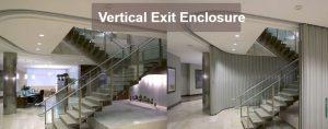 Vertical Exit Enclosures
